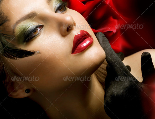 Fashion Woman. Luxury Style - Stock Photo - Images
