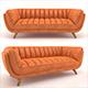 Bruno leather sofa