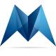 Modernica M Letter Logo