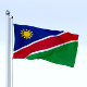 Animated Namibia Flag