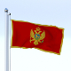Animated Montenegro Flag