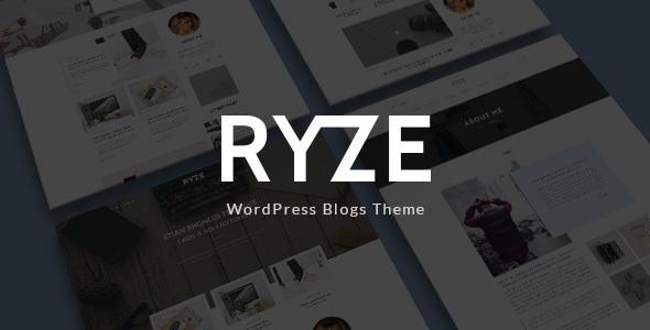 Ryze - Blog/Magazine WordPress Theme