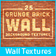 25 Grunge Brick Wall Background Textures