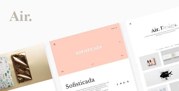 Air. Lightweight Portfolio & Photography HTML Theme