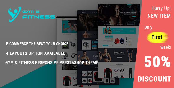 Download Gym & Fitness - Responsive Prestashop Theme nulled download