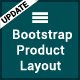 Responsive Bootstrap Product Layout Pack