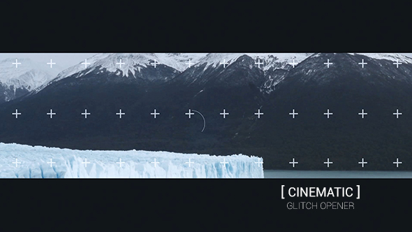 Cinematic Glitch Opener (Abstract)