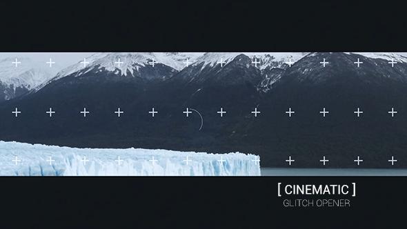 VideoHive Cinematic Glitch Opener 19065821
