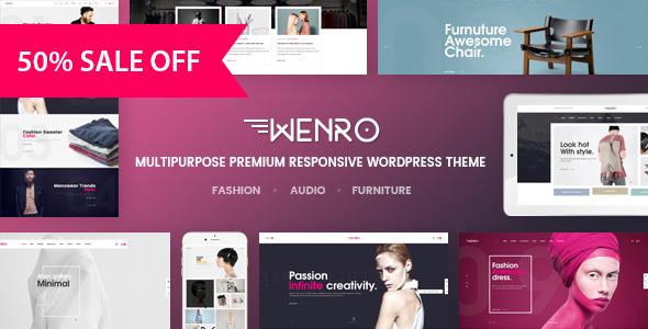 Download Wenro - Multipurpose WooCommerce WordPress Theme nulled download