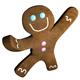 Gingerbread man dance - GraphicRiver Item for Sale