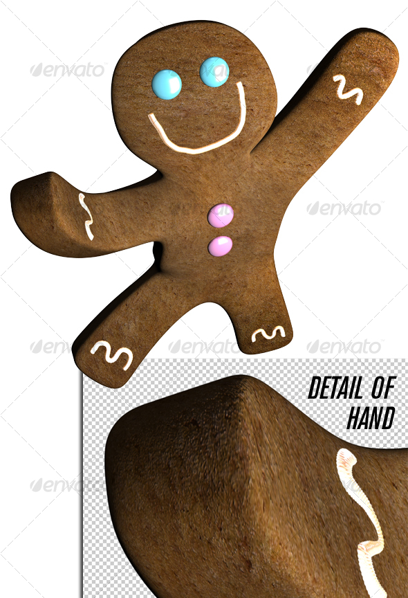 GraphicRiver Gingerbread man dance 72741
