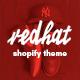 Redhat - Urban Clothing Shopify Theme