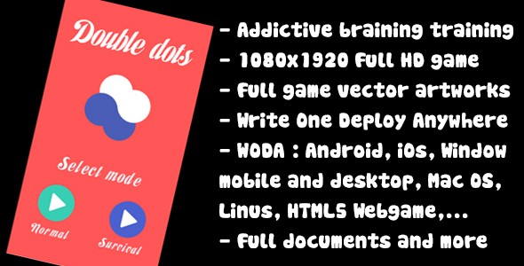Download Brain training - Double dots (admob included) nulled download