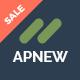 Apnew - WordPress Landing Page Theme
