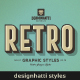Retro Vintage Text Styles Vol.02