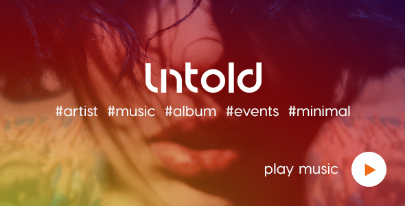 Untold | Artist | Music | Events HTML Template