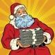 Santa Claus with Money