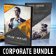 3 Corporate DVD Business Covers Bundle