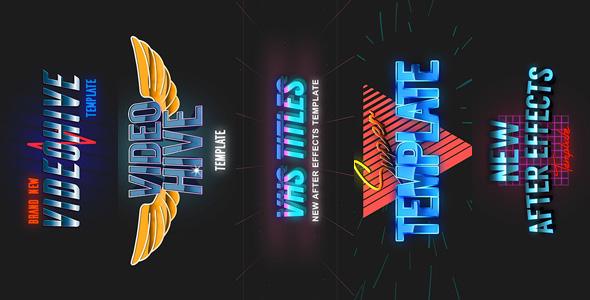Download 5 VHS Title Opener Pack 2 nulled download