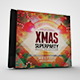 Xmas Super Party CD/DVD Template