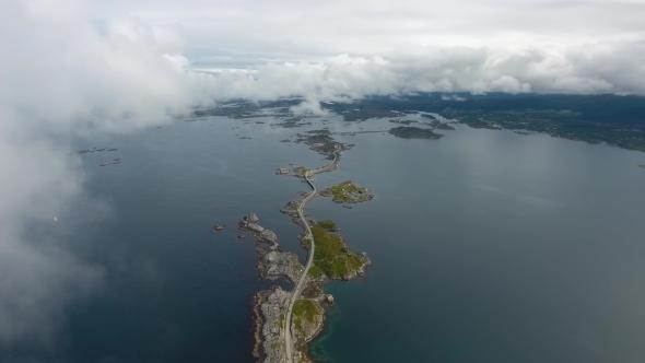 VideoHive Atlantic Ocean Road in Norway 19076945