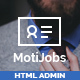 Motijobs - Human Resources Admin Template