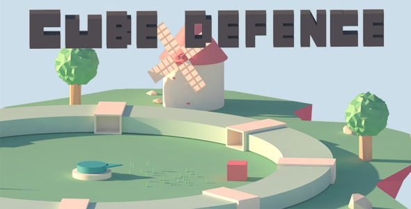 Cube Defence - Construct 2 - HTML5 - Admob
