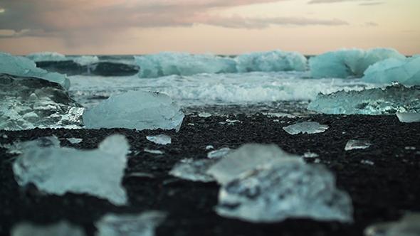 VideoHive Ice In Jkulsrln Glacier Lagoon Iceland 19077470