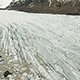 Svinafellsjokull Glacier Tongue In Winter