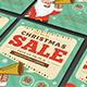 Retro Christmas Sale