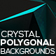 Polygonal Backgrounds Crystal