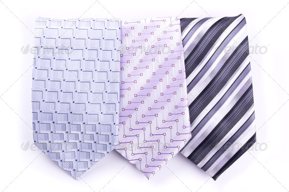 Three tie - Stock Photo - Images