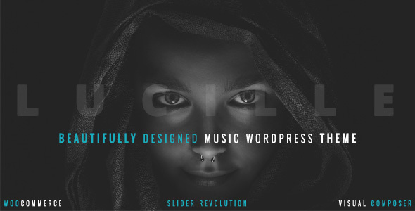 Download Lucille - Music WordPress Theme nulled download