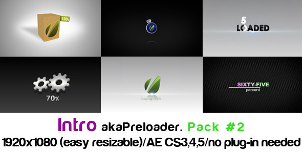 After Effects Project - VideoHive Intro akaPreloader Pack#2 1876493