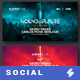 Electronic Music Party vol.8 - Facebook Post Banner Templates