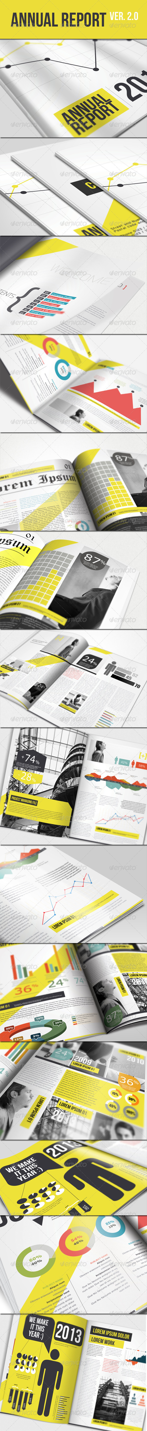 GraphicRiver Annual Report Brochure Ver 2.0 1876686