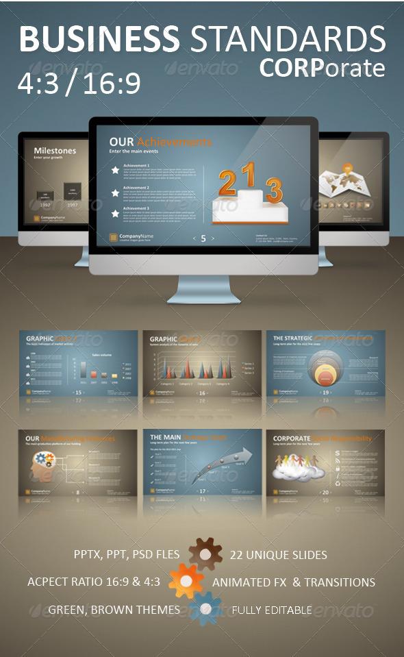 GraphicRiver Business Standards Corporate Presentation 1574807