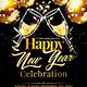 2017 Happy New Year Celebration Flyer