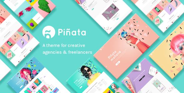Download Piñata - A Fun, Vibrant Theme for Creative Agencies & Freelancers nulled download