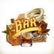 Bar Vector Emblem