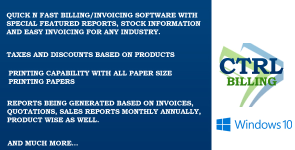 Ctrl Invoicing & Billing Software