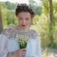 Portrait of Beautiful Caucasian Bride