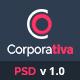 Corporativa - Onepage Corporate & Business PSD Template