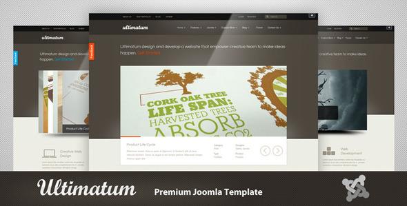 ThemeForest Ultimatum Premium Joomla Template 1876826
