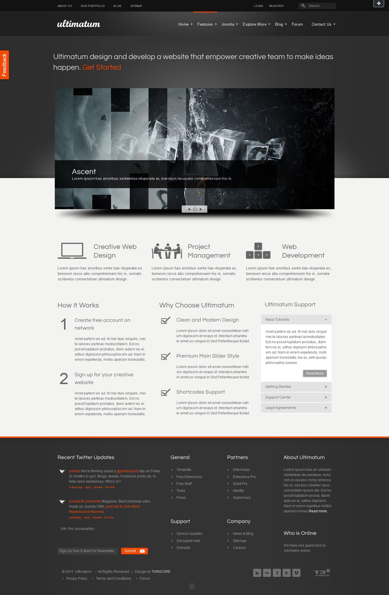 Ultimatum - Premium Joomla Template