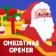 Christmas Greeting Card Opener