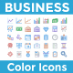 Business Color Icons