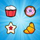 Pastry Power - IOS Memory Game