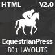 EquestrianPress | Equestrian & Horse Riding Training Responsive HTML5 Template