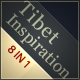 Tibet Inspiration 8 in 1 - portfolio & business